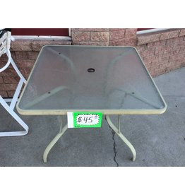 Patio table - green