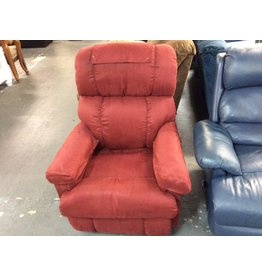Recliner red lazyboy