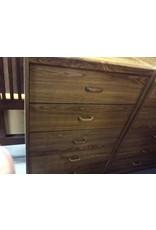 5 drawer chest oak wrap