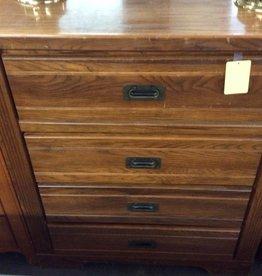 4 drawer chest oak