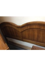 King headboard oak