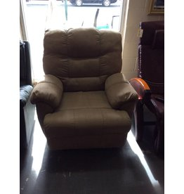 Electric recliner / brown micro