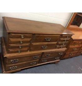 10 drawer dresser maple