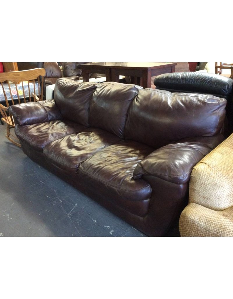 Sofa, Brown Leather