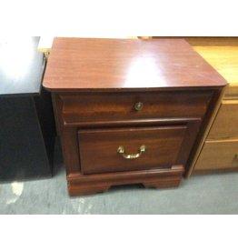 2 drawer nightstand cherry