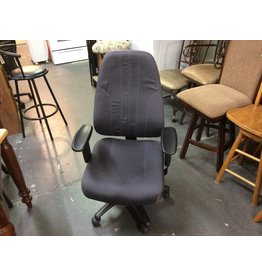Office chair grey w/ arms