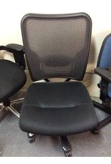 Large office chair black no arms