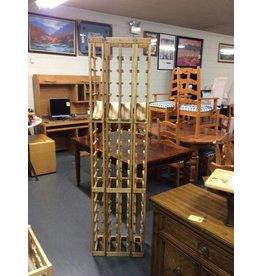 68 bottle wine rack / wood