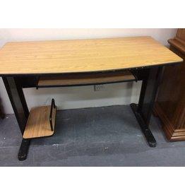 Desk oak/ metal