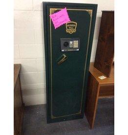 Safe bunker hill gun safe green w/ keys