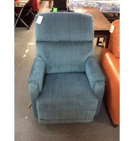 Rocker/ recliner blue lazy boy