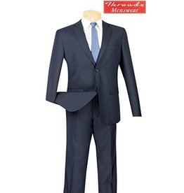 Vinci Vinci Ultra Slim Suit Navy US900-1