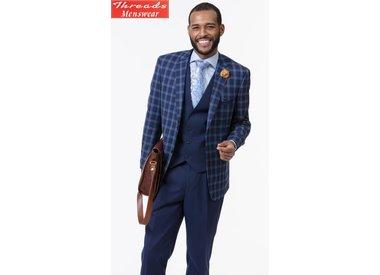 3 Piece Vested Suit