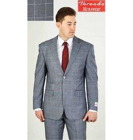 Lorenzo Bruno Lorenzo Bruno Modern Fit Suit M62WP Gray