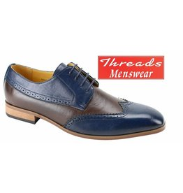 Antonio Cerrelli Antonio Cerrelli 6764 Dress Shoe - Navy/Brown