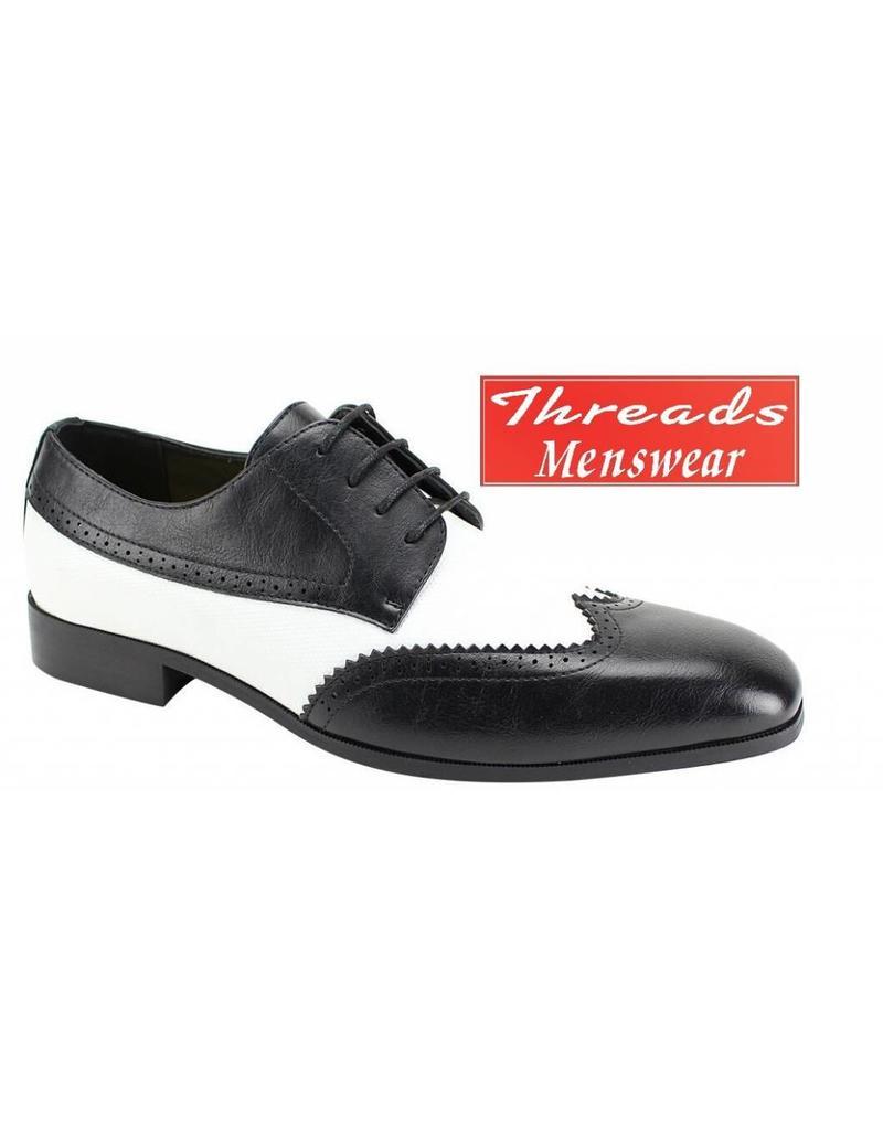Antonio Cerrelli Antonio Cerrelli 6764 Dress Shoe - Black/White