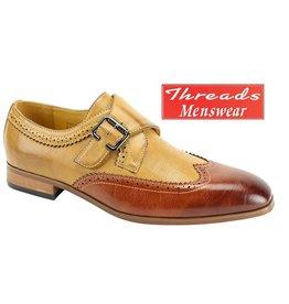 Antonio Cerrelli Antonio Cerrelli 6763 Dress Shoe - Cognac/ Scotch