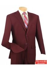 Vinci Vinci Suit 2LK-1 Burgundy