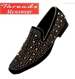 Amali Amali Cusco Formal Shoe - Black/Gold