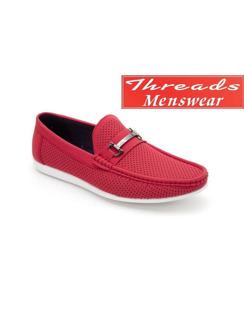 Montique Montique Casual Shoe S-45 Red