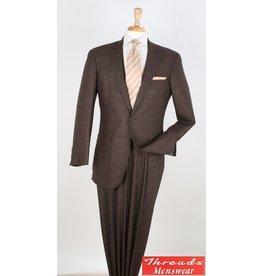Royal Diamond Royal Diamond Wool Suit - H767 Brown Tweed