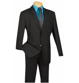 Lucci Lucci Slim Fit Suit - S2PP Black