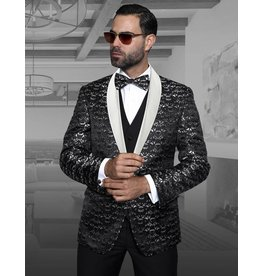 Statement Statement Suit, Vest, and Bow Tie - Palazio (4 colors)