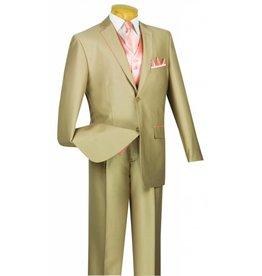 Vinci Vinci Vested Suit - 23SS4 Tan/Peach