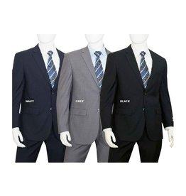 Lorenzo Bruno Lorenzo Bruno Suit - C602 Black
