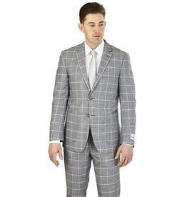 Lorenzo Bruno Lorenzo Bruno Modern Fit Suit - M62CB Gray
