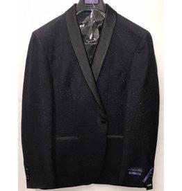Retro Paris Retro Paris Slim Fit Blazer- 512 Blue/Black