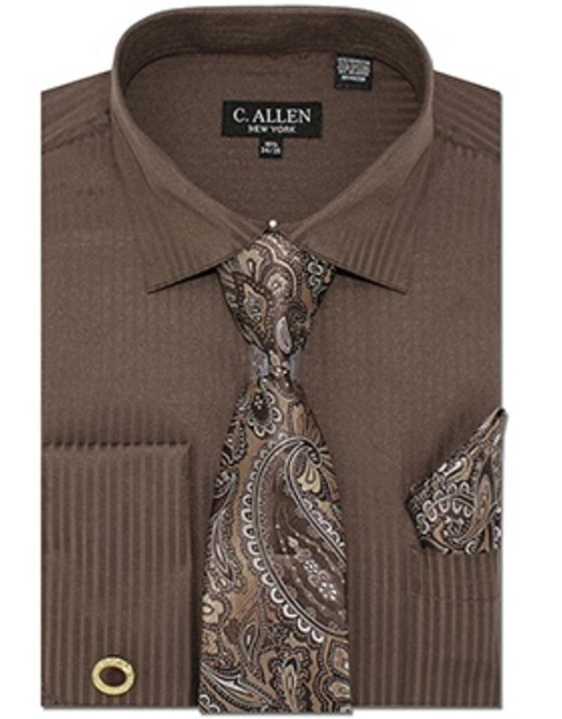 C. Allen C. Allen Shirt Set - JM211 Brown