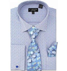 C. Allen C. Allen Shirt Set - JM214 Blue
