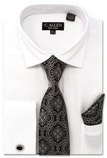 C. Allen C. Allen Shirt Set - JM212 White