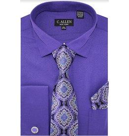 C. Allen C. Allen Shirt Set - JM212 Purple