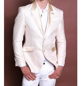 Barabas Barabas Slim Fit Blazer - BL030 Cream