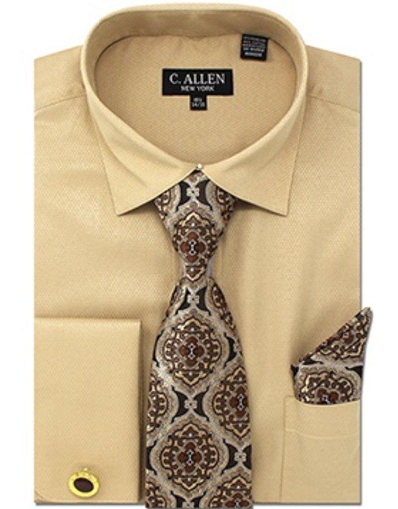 C. Allen C. Allen Shirt Set - JM212 Tan