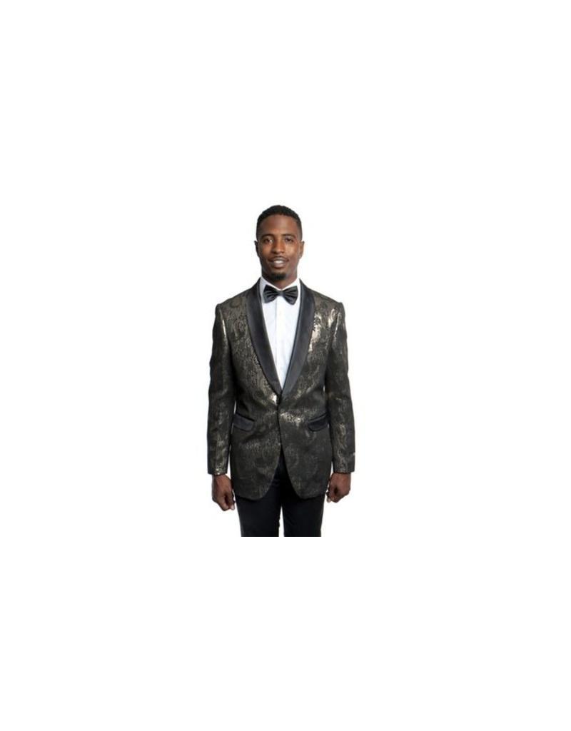 Tazio Tazio Slim Fit Blazer - MJ187S Gold