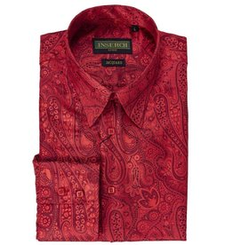 Inserch Inserch Paisley Jacquard Shirt - 2266 Red