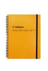 Rollbahn Spiral Notebook XL Yellow