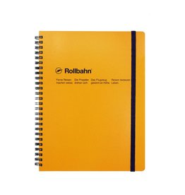 Rollbahn Spiral Notebook XL Yellow