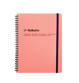 Rollbahn Spiral Notebook XL Blush Pink