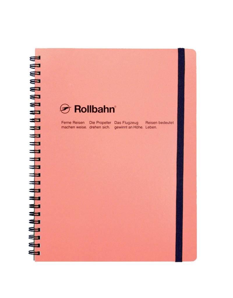 Rollbahn Spiral Notebook XL Blush Pink
