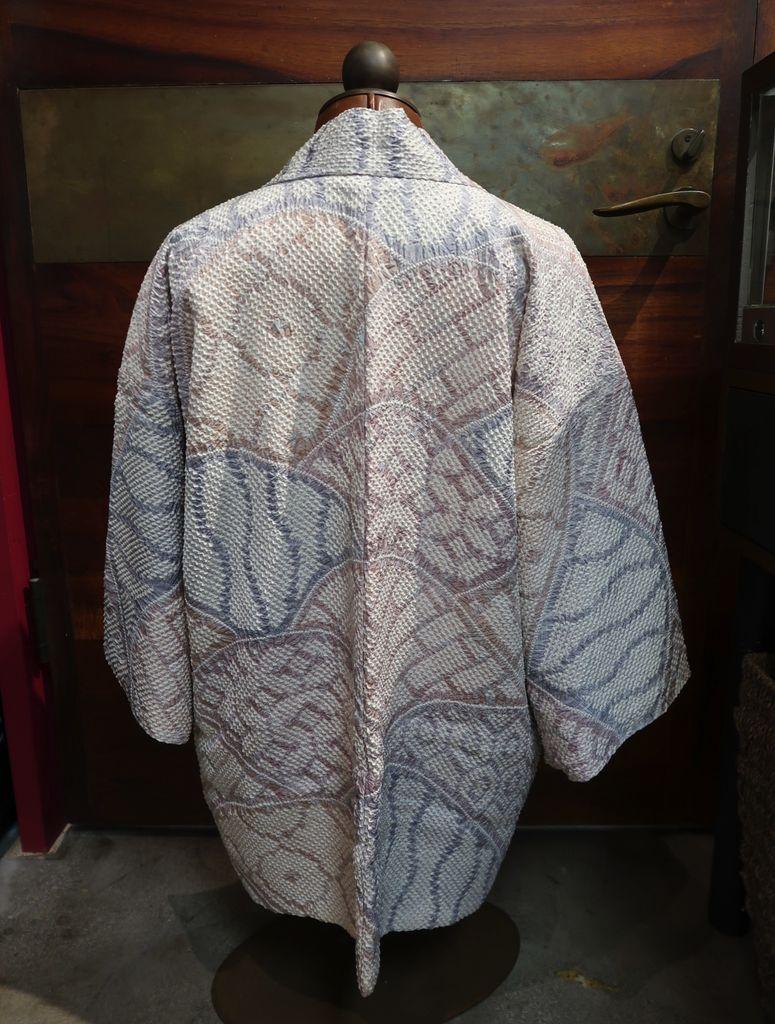 Elizabeth Kent multi color shibori jacket