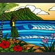 """Heather Brown HULA GIRL, 16""""X20"""" GALLERY WRAP  GICLEE ON CANVAS, LIMITED EDITION #239/250, SO18044"""