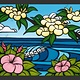 "Heather Brown HAWAIIAN FLOWERS, 16""X20"" OPEN EDITION GALLERY WRAP GICLEE ON CANVAS, SO16125"