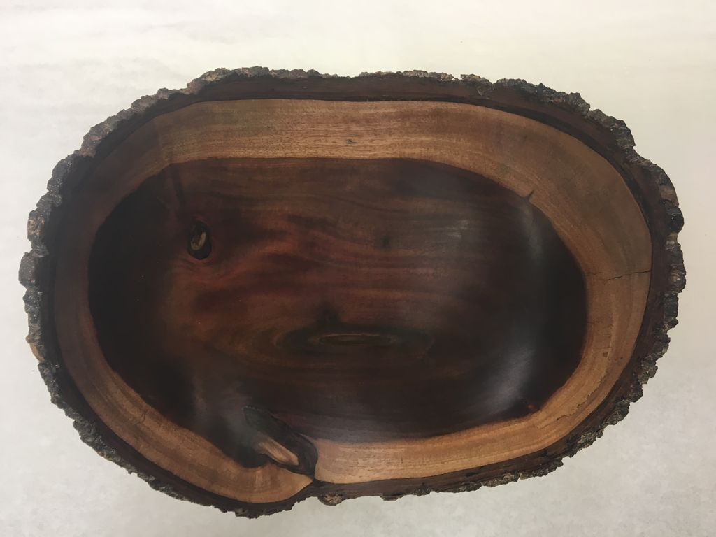Andy Cole 109 11x4 Natural Edge Milo Bowl