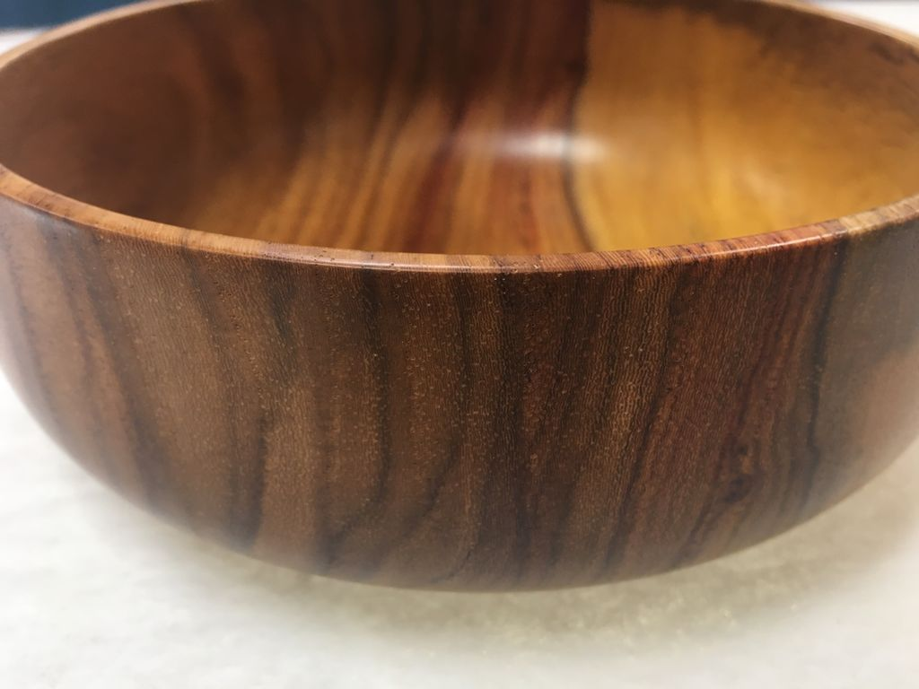 Andy Cole 116 7x3 Narra Bowl