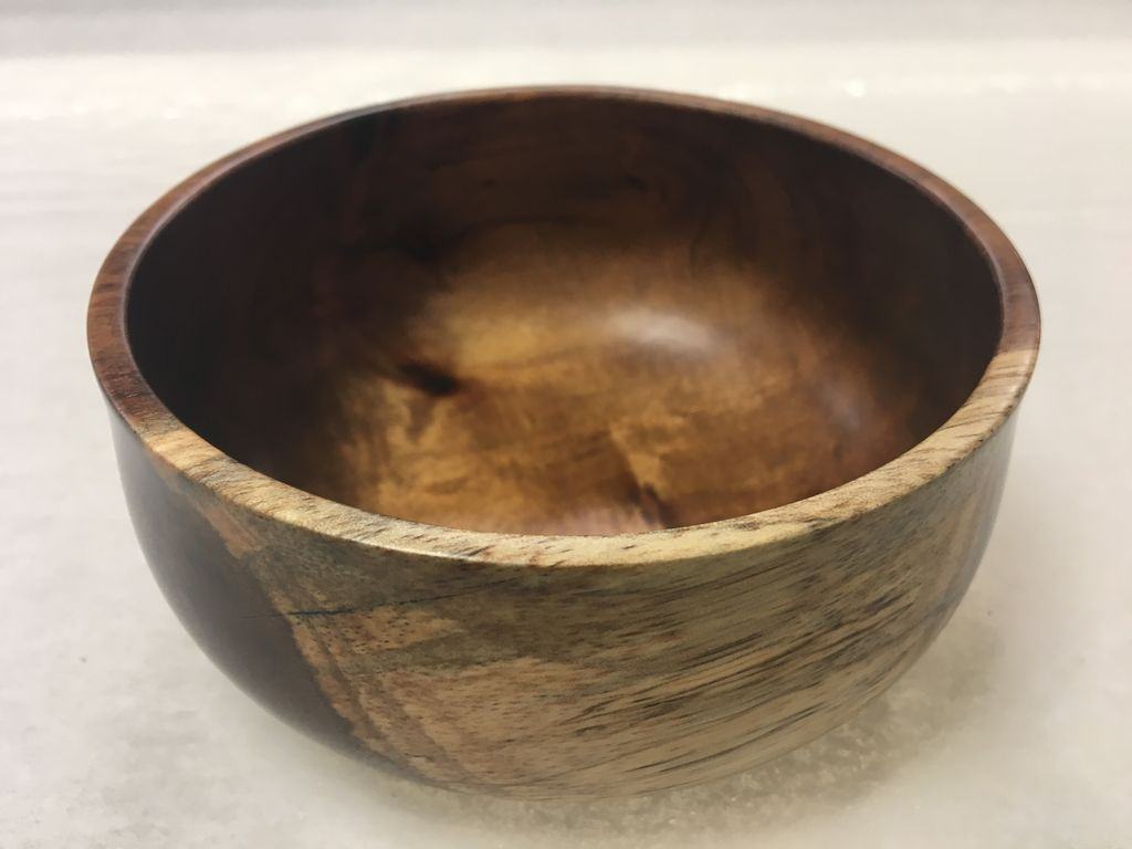 Andy Cole 118 5x2 Koa Bowl