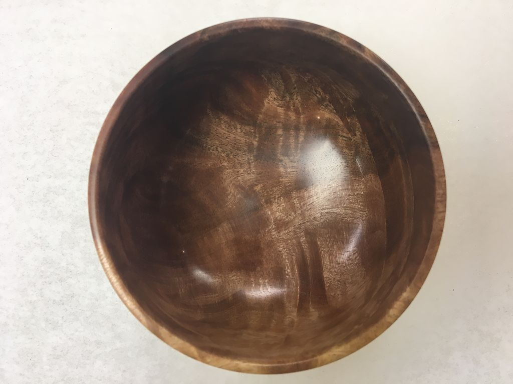 Andy Cole 119 4x3 False Kamani Bowl